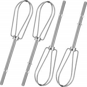 4 Pieces W10490648 Hand Mixer Hand Beaters