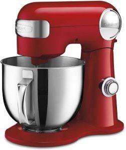 Cuisinart 5.5 Quart Stand Mixer Red