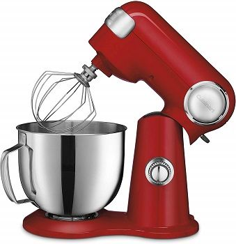 Cuisinart 5.5 Quart Stand Mixer Red review