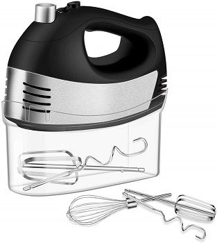 Cusinaid 5-Speed Hand Mixer With Storage Case review