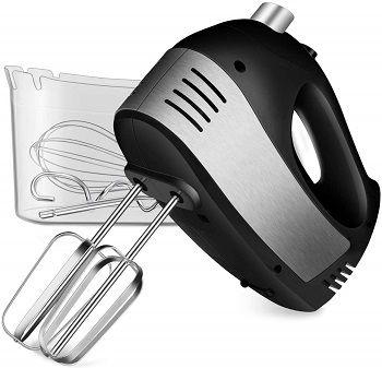 Cusinaid 5-Speed Hand Mixer With Storage Case