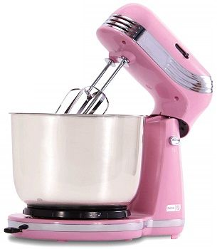 Dash Everyday Stand Mixer Pink review