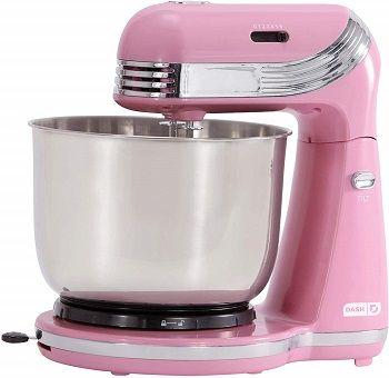 Dash Everyday Stand Mixer Pink