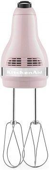 Pink Kitchenaid Hand Mixer 7 Speed review
