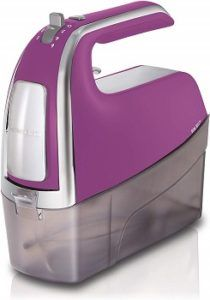 Purple Hamilton Beach 6-Speed Electric Hand Mixer