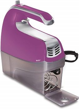 Purple Hamilton Beach 6-Speed Electric Hand Mixer review