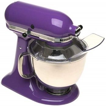 Purple Kitchenaid Stand Mixer