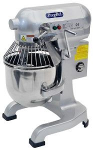 10-Quart PREPPAL Commercial Stainless Steel Food Mixer